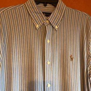 Large Ralph Lauren button down long sleeve shirt